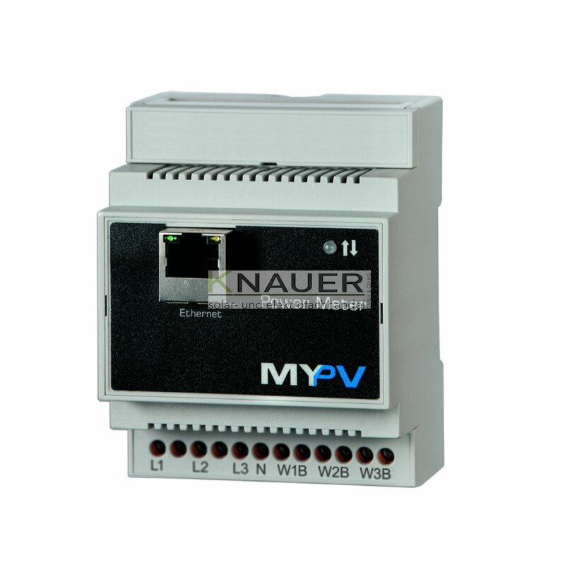 MYPV Power Meter Thor Wandlerzähler 3Phasen 65A Ethernet 20-0102 my-pv